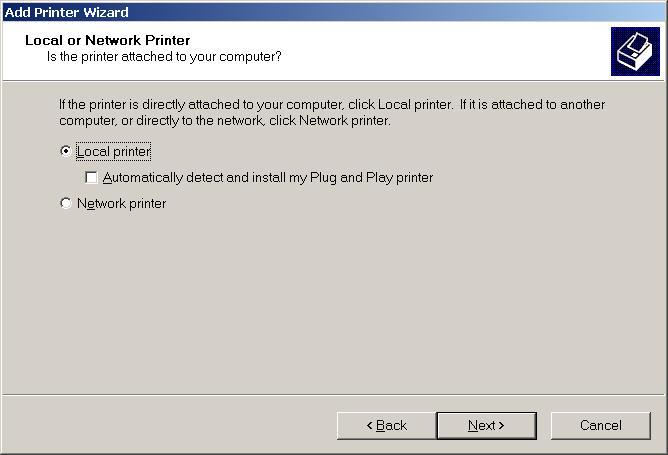 Configure Printer in Windows - TomatoUSB